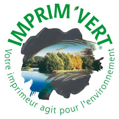 Avec Imprim'Vert votre imprimeur l'Imprimerie Villière agit pour l'environnement