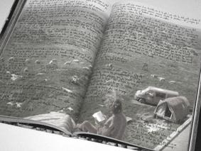 Livre dos carré collé - impression en couleur ou en noir et blanc