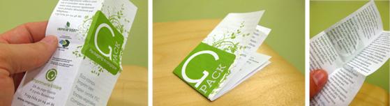 Packaging éco-conçu échantillonier parfum Gpack imprimerie Villière