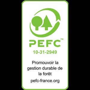 Certification PEFC 10-31-2949 Imprimerie Villière
