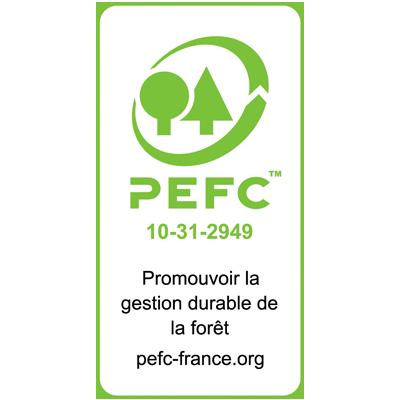 Avec sa Certification PEFC, L'Imprimerie Villière agit pour la préservation des forêts