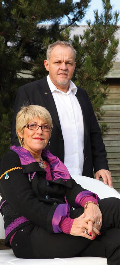 Isabelle et Didier Villière, co-gérants et co-fondateurs de villi®